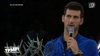 Le débrief de Baba : Cyril Hanouna revient sur la victoire de Novak Djokovic au Rolex Paris Master