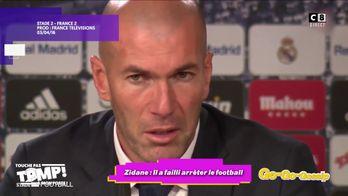 Zidane : Le footballeur aurait failli arrêter le football