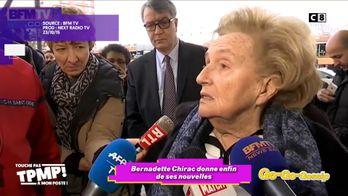 Bernadette Chirac sort du silence et donne de ses nouvelles