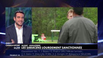 Les Saracens lourdement sanctionnés