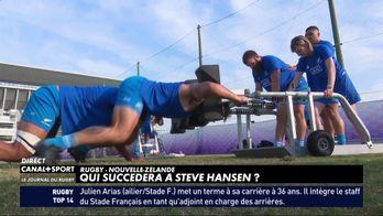 Qui succèdera à Steve Hansen à la tête des All Blacks ?