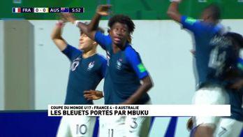 Les Bleuets portés par Mbuku