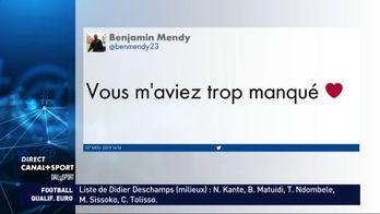Le retour de Benjamin Mendy en Equipe de France