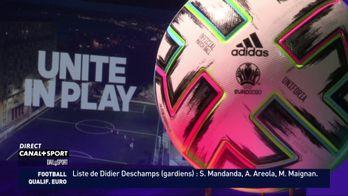 "Le ballon de l'Euro 2020 baptisé ""Uniforia"""