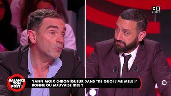 """Yann Moix à Cyril Hanouna : """"Je vous estime Cyril"""""""