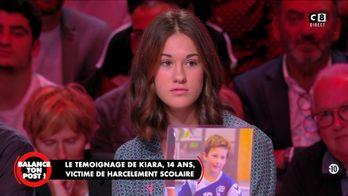 """Le témoignage de Kiara, 14 ans victime de harcèlement scolaire : """"Ca m'a vraiment détruite"""""""