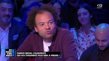 Fabrice Éboué, l'humoriste qui n'a vraiment plus rien à perdre !