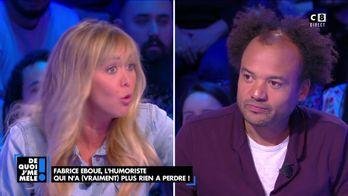 """Enora Malagré à Fabrice Éboué : """"Pour moi, vous êtes le plus grand humoriste du moment"""""""