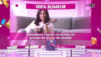 Vaimalama Chaves reprend un titre d'Henri Salvador avec son ukulélé