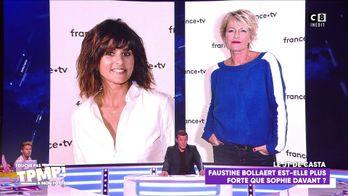 Faustine Bollaert en concurrence avec Sophie Davant ?