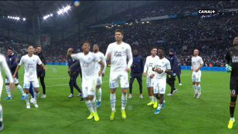 La joie des Marseillais après l'Olympico !