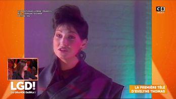 La première apparition télé de Evelyne Thomas