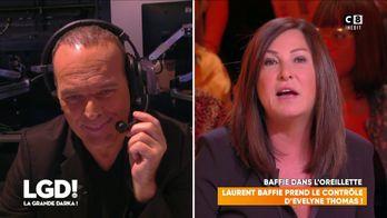 Laurent Baffie prend le contrôle d'Evelyne Thomas