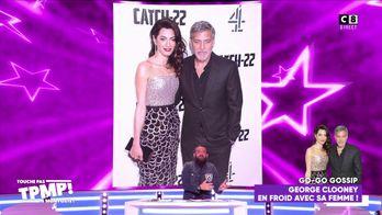George Clooney en froid avec sa femme ?