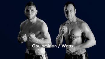 Championnat du Monde WBA lourds-legers : Goulamirian / Watts