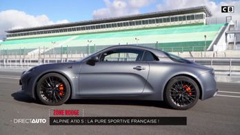 Zone Rouge : Alpine A110S