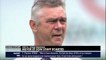 Meyer et son staff écartés