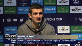 Thomas Ramos revient sur l'épisode Coupe du Monde