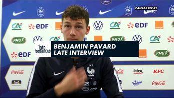 Late interview : Benjamin Pavard