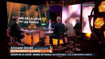 L'entraîneur du Mans réagit au tirage au sort de Coupe de la Ligue
