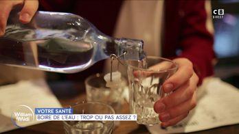 Boire de l'eau : trop ou pas assez ?