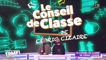 Le conseil de classe de Cédric Cizaire : Quand Evelyne Thomas drague Cyril Hanouna