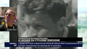 Poulidor décédé, le monde du cyclisme témoigne