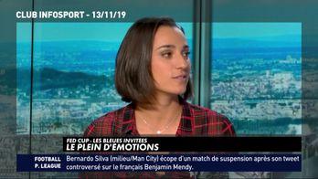 Les Bleues pleines d'émotions après la victoire en Fed Cup