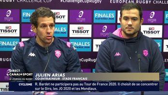 Un duo pour relancer le Stade Français