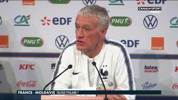 Didier Deschamps parle de Corentin Tolisso