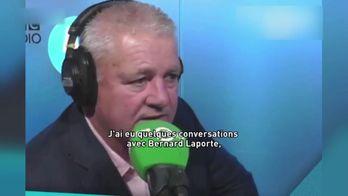 """W. Gatland : """"J'aurais pu entraîner la France"""""""