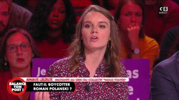"""Anais Leleux, militante féministe : """"Roman Polanski est un pédocriminel"""""""
