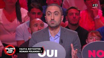 """Jimmy Mohamed : """"Roman Polanski peut violer en toute impunité parce que c'est un cinéaste"""""""
