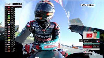 Quartararo, le plus rapide des FP1