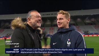 Nicolas Cozza (France Espoirs) avant le match contre la Géorgie