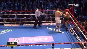 Goulamirian enchaîne les coups dans le 3e round