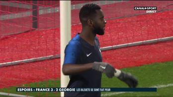 Le résumé de la victoire de la France espoirs contre la Géorgie