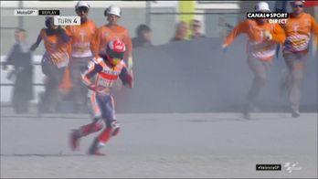 Au tour de Marc Marquez de chuter !