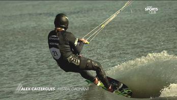 Alex Caizergues, Mistral gagnant