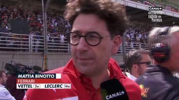 Le patron de Ferrari ambitieux
