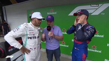 Lewis Hamilton analyse la fin de course