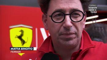 """Binotto : """"On a besoin d'analyser la course mais pas à chaud"""""""