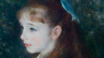 Renoir et la petite fille au ruban bleu