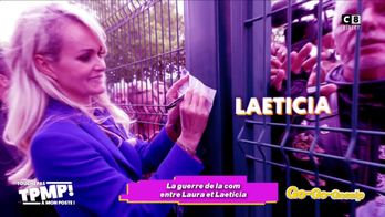 La guerre est relancée entre Laeticia Hallyday et Laura !