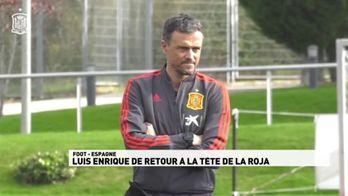 Luis Enrique de retour à la tête de la Roja