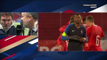 La réaction de Sylvain Ripoll après la défaite des Espoirs