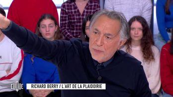 Richard Berry interprète la plaidoirie de l'avocat des familles de Zyed et Bouna