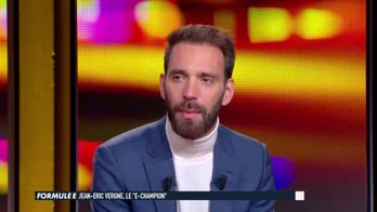"""La préparation de Jean Eric Vergne le """"E-Champion"""""""