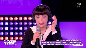 Mireille Mathieu reprend les chansons darka qu'elle entend dans son casque