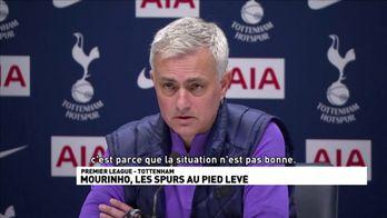 Mourinho, les Spurs au pied levé